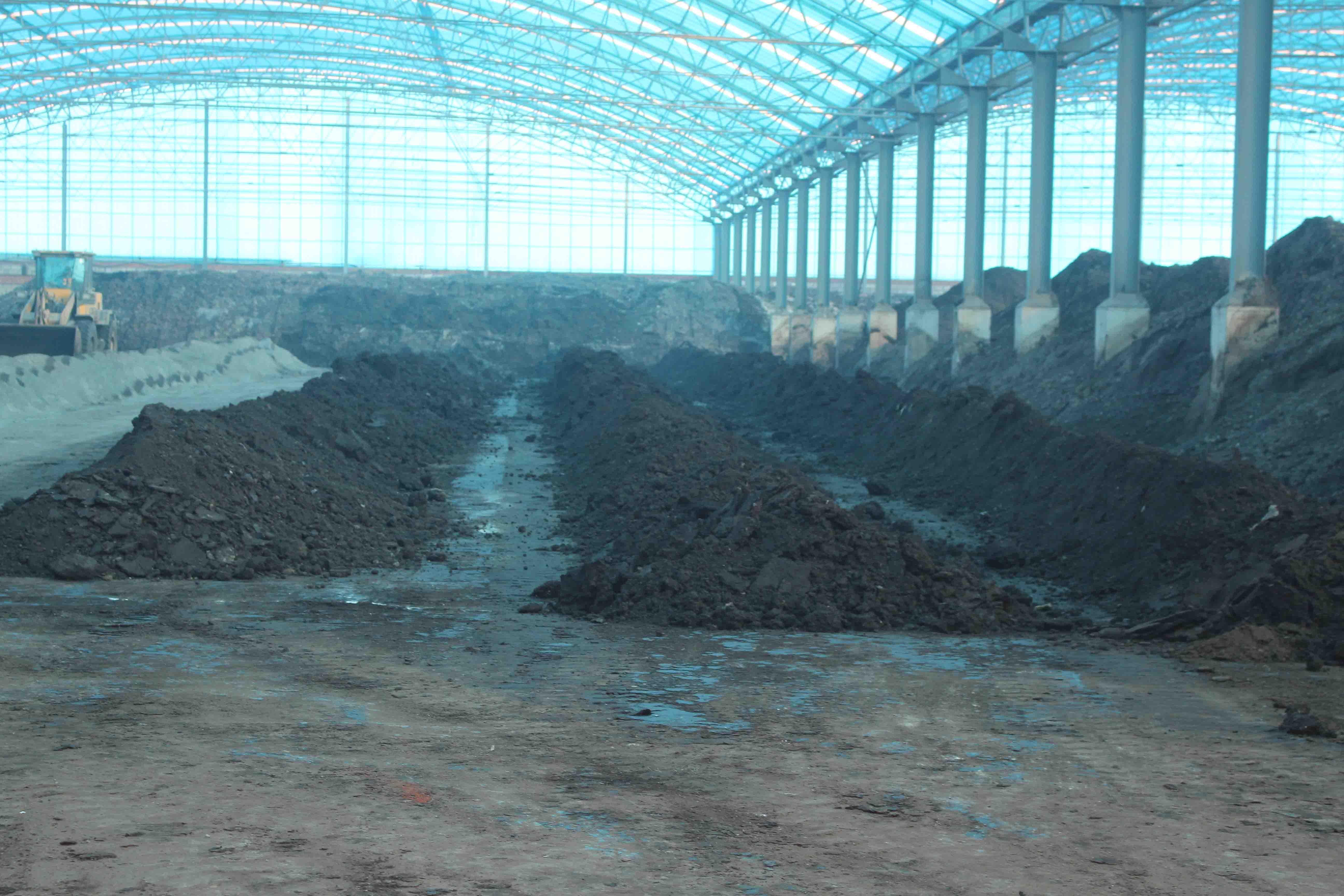 条形发酵槽_有机肥生产